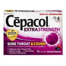 Cepacol Extra Strength Lozenges 16 ct