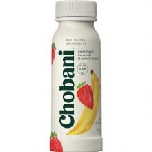 Yogurt - Chobani Strawberry Banana Greek Yogurt Drink 7 oz