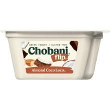 Yogurt - Chobani Greek Flips Almond Coconut 5.3 oz