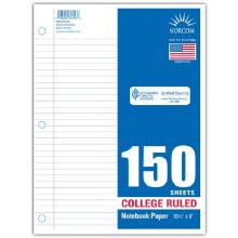 Paper - College Ruled 150 Sheets