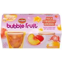 Fruit - Del Monte Peach Strawberry Lemonade Bubble Fruit 6 ct