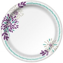 Paper Plates - Dixie Heavy Duty 8.5 in 48 ct