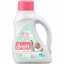 Laundry Detergent - Dreft Stage 2 Liquid Active Baby 50 oz