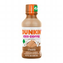 Iced Coffee - Dunkin' S'mores 13.7 oz