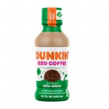 Iced Coffee - Dunkin' Thin Mint 13.7 oz