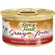 Cat Food - Fancy Feast Gravy Lovers Beef 3 oz