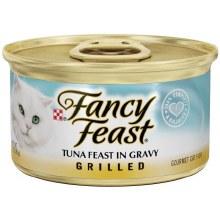 Cat Food - Fancy Feast Tuna in Gravy 3 oz