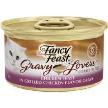 Cat Food - Fancy Fest Gravy Lovers Chicken 3 oz