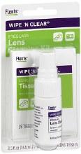 Flents Wipe N Clear Lens Cleaner