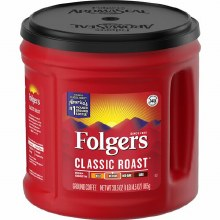 Coffee - Folgers Classic Roast Medium Coffee 30.5 oz