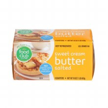 Butter - Food Club Salted 1 lb