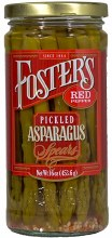 Asparagus Spears - Foster's Pickled Red Pepper 16 oz