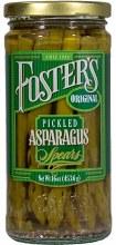 Asparagus Spears - Foster's Original Pickled 16 oz