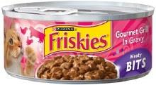 Cat Food - Friskies Meaty Bits Gourmet Grill 5.5 oz