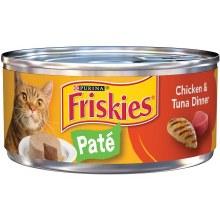 Cat Food - Friskies Pate Chicken & Tuna 5.5 oz
