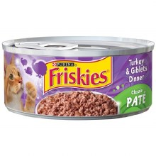 Cat Food - Friskies Pate Turkey & Giblets Dinner 5.5 oz