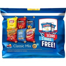 Chips - Frito Lay Flavor Mix 18 ct