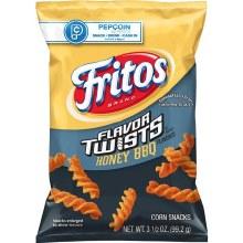 Chips - Fritos Honey BBQ Twists 3.5 oz