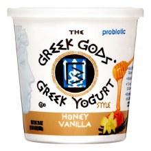 Yogurt - Greek Gods Honey Vanilla 24 oz