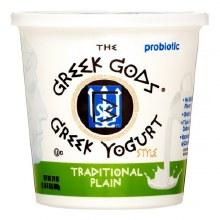 Yogurt - Greek Gods Traditional Plain 24 oz