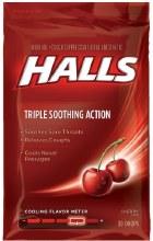 Cough - Halls Triple Cherry 30 ct