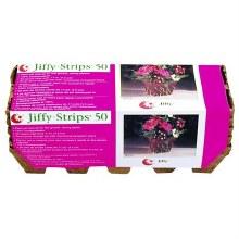Jiffy Strips Planters 50 ct