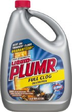 Drain Care - Liquid Plumber Full Clog Destroyer 80 oz
