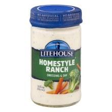 Dressing - Litehouse Homestyle Ranch 13 oz