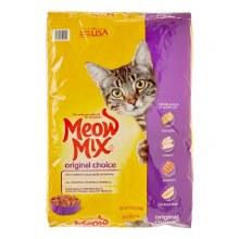 Cat Food - Meow Mix Original 16 lb