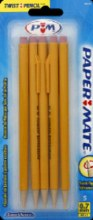 Pencils - Papermate Mechanical .7mm 5 ct