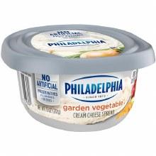Cream Cheese - Philadelphia Garden Vegetable Spread 7.5 oz