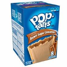 Breakfast Bars - Pop Tarts Brown Sugar Cinnamon 8 ct