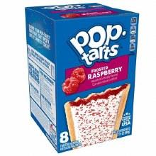 Breakfast Bars - Pop Tarts Frosted Raspberry 8 ct