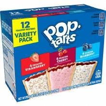 Breakfast Bars - Pop Tarts Variety Pack 12 ct