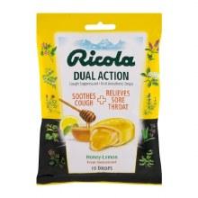 Cough - Ricola Dual Action Honey Lemon 19 ct