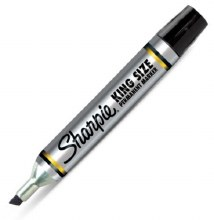 Markers - Sharpie King Size Black