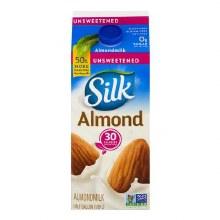 Almond Milk - Silk Original Unsweetened 64 oz