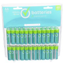 Batteries - Simply Done AA 48 pk