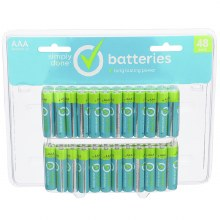Batteries - Simply Done AAA 48 pk