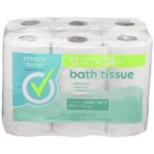 Bath Tissue - Simply Done 12 Double Rolls