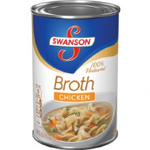 Broth - Swanson Canned Chicken 14 oz