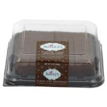 Brownies - Sweet P's Fudge Iced 13 oz