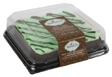 Brownies - Sweet P's Mint Iced 13 oz
