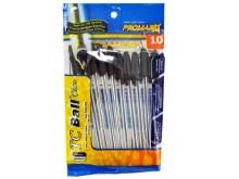 Pens - TC Ball Point Black Ink 10 ct