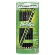 Pencils - Ticonderoga Black No 2 10 ct