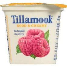 Yogurt - Tillamook Rasberry 6 oz