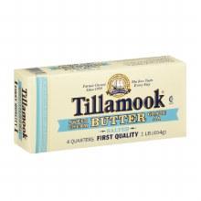 Butter - Tillamook Salted 1 LB