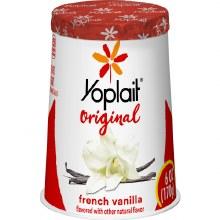 Yogurt - Yoplait French Vanilla 6 oz
