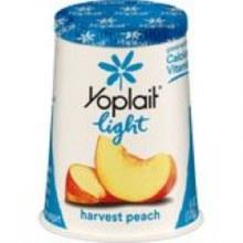 Yogurt - Yoplait Light Peach 6 oz