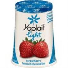 Yogurt - Yoplait Light Strawberry 6 oz